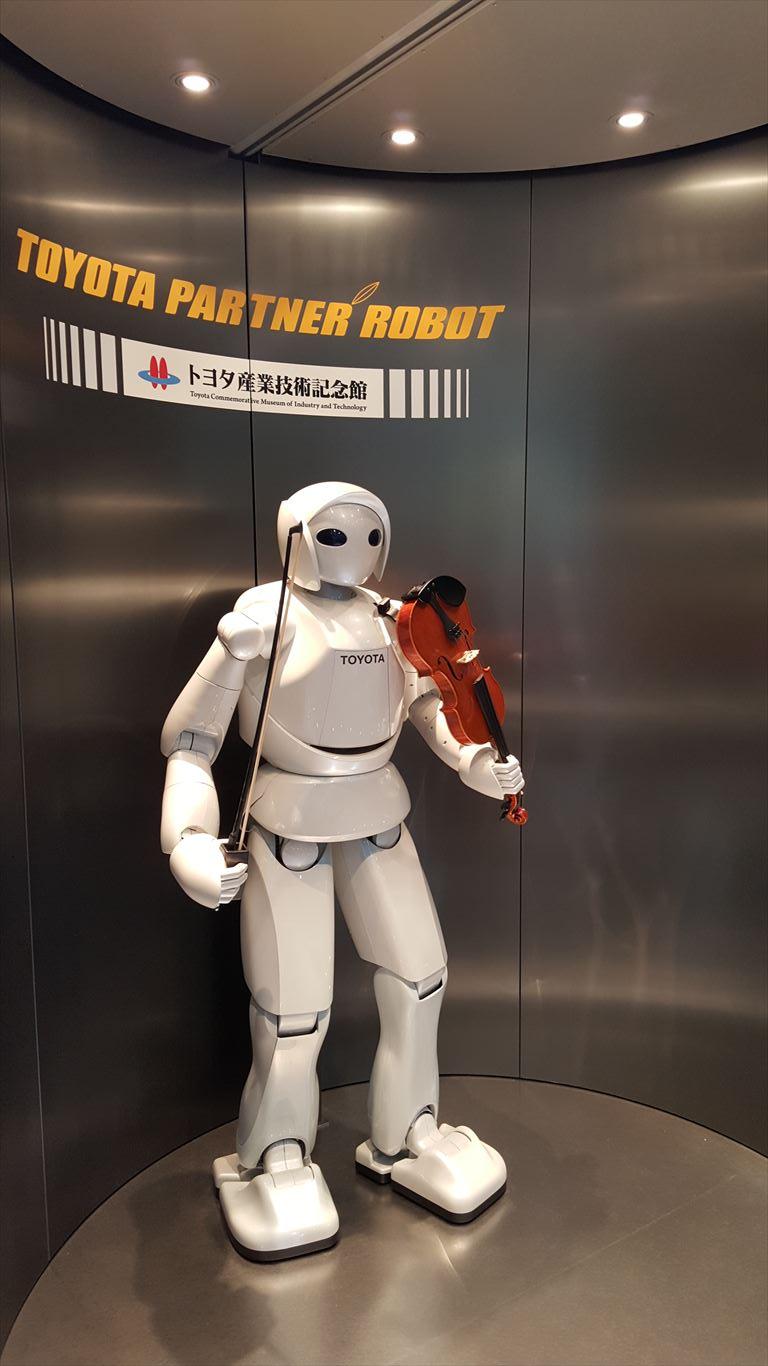 バイオリン弾きロボット