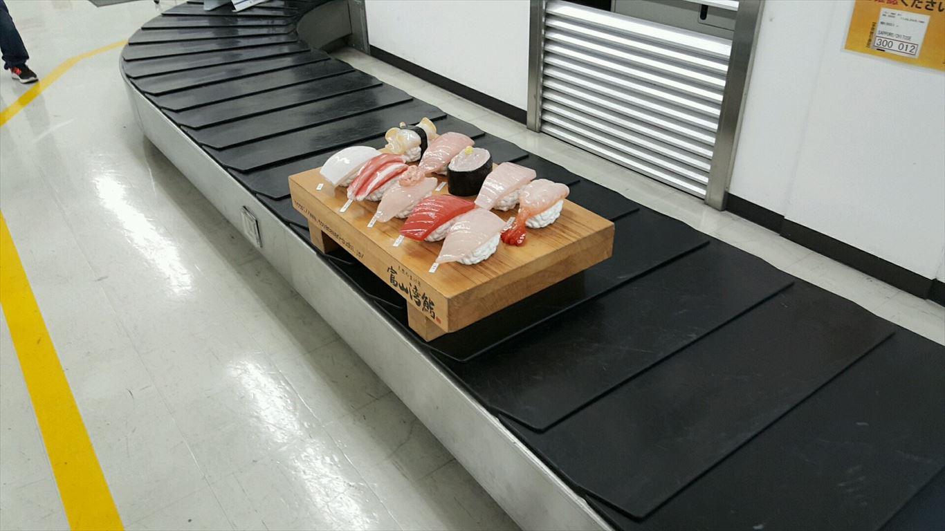 ターンテーブルの回転寿司2